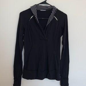 Lululemon Black 1/2 Zip Pullover Size 6